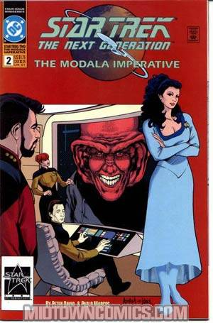 Star Trek The Next Generation The Modala Imperative #2