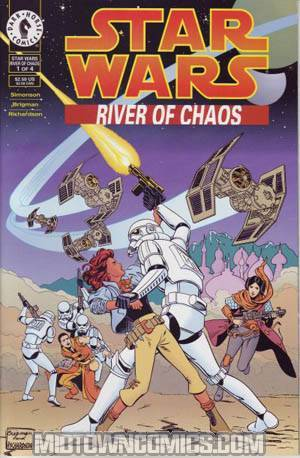 Star Wars River Of Chaos #1
