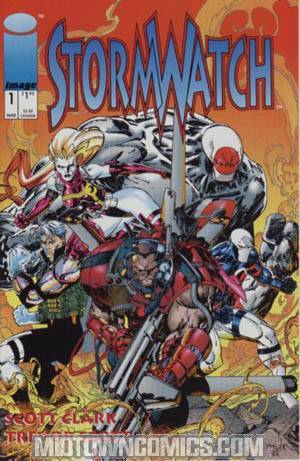 Stormwatch #1 Cover A Regular Edition