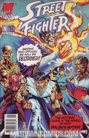 Street Fighter (Malibu) #1 Cover A Regular Cover