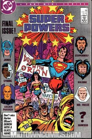 Super Powers Vol 3 #4