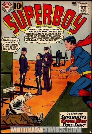 Superboy #91
