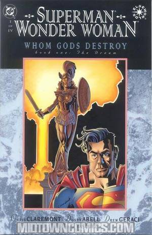 Superman Wonder Woman Whom Gods Destroy #1