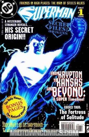 Superman Secret Files #1