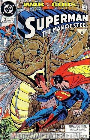 Superman The Man Of Steel #3