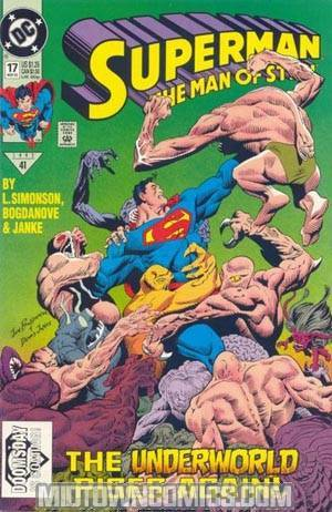 Superman The Man Of Steel #17 Cover A 1st Ptg