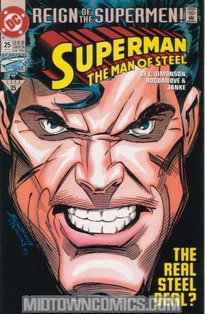 Superman The Man Of Steel #25