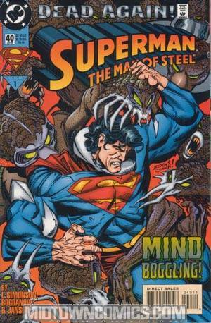 Superman The Man Of Steel #40