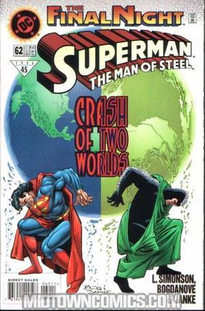 Superman The Man Of Steel #62