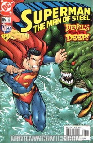 Superman The Man Of Steel #106