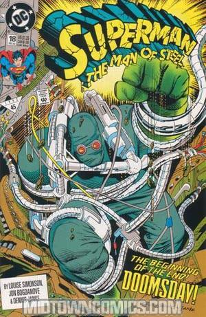 Superman The Man Of Steel #18 Cover A 1st Ptg