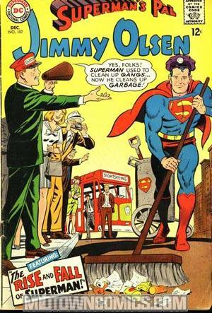 Supermans Pal Jimmy Olsen #107