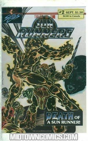 Tales Of The Sun Runners Vol 2 #2