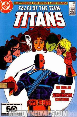 Tales Of The Teen Titans #54