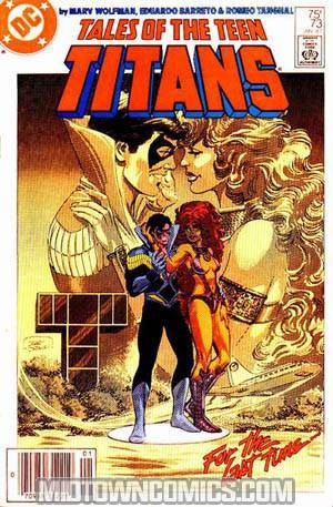 Tales Of The Teen Titans #73