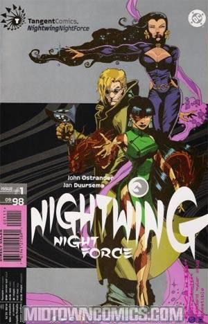 Tangent Comics Nightwing Nightforce #1