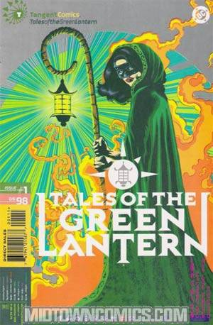 Tangent Comics Tales Of The Green Lantern #1