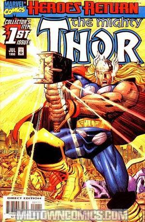 Thor Vol 2 #1 Cover A Regular