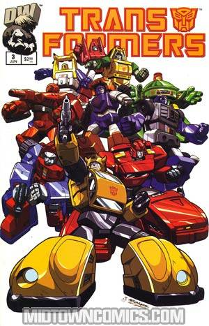 Transformers Generation 1 #3 Cover A