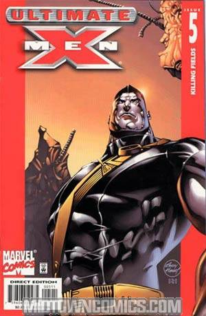 Ultimate X-Men #5 With Cards