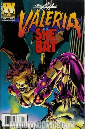 Valeria The She Bat Vol 2 #1