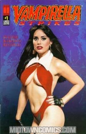 Vampirella Strikes #1 Limited Edition Photo Cover