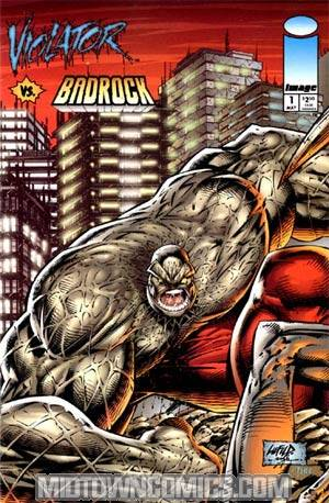 Violator vs Badrock #1 Badrock Cover