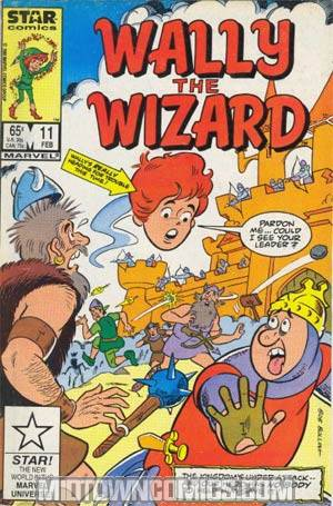 Wally The Wizard #11