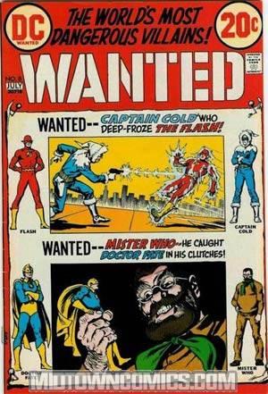 Wanted Worlds Most Dangerous Villains #8