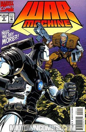 War Machine #2 Cover A With Cards
