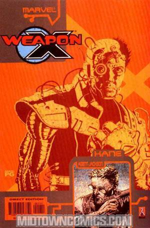 Weapon X The Draft Kane #1
