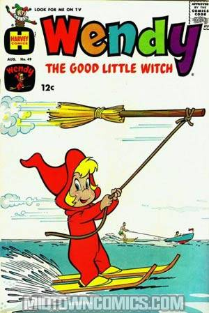 Wendy The Good Little Witch #49