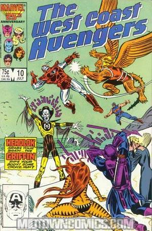 West Coast Avengers Vol 2 #10