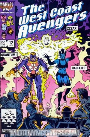 West Coast Avengers Vol 2 #12