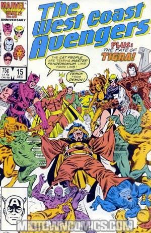 West Coast Avengers Vol 2 #15