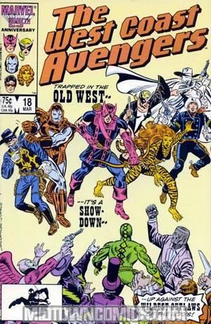 West Coast Avengers Vol 2 #18