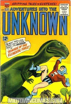 Adventures Into The Unknown #155