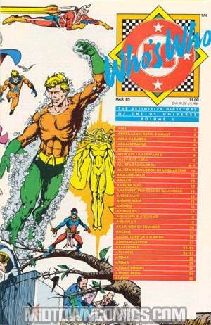 Whos Who The Definitive Directory Of The Dc Universe #1