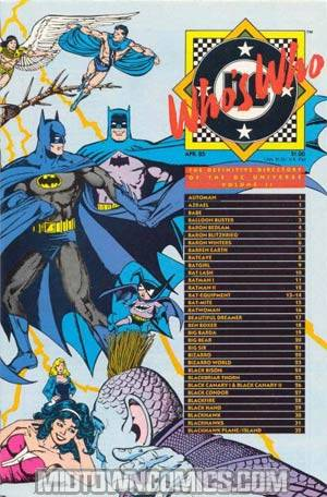 Whos Who The Definitive Directory Of The Dc Universe #2