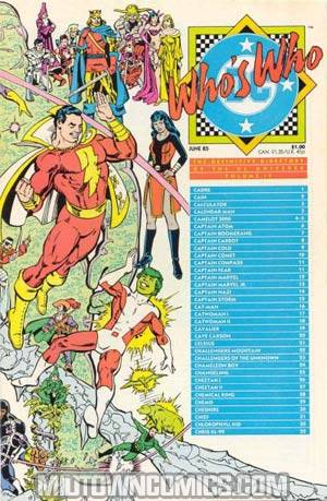 Whos Who The Definitive Directory Of The Dc Universe #4