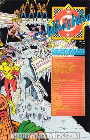 Whos Who The Definitive Directory Of The Dc Universe #12
