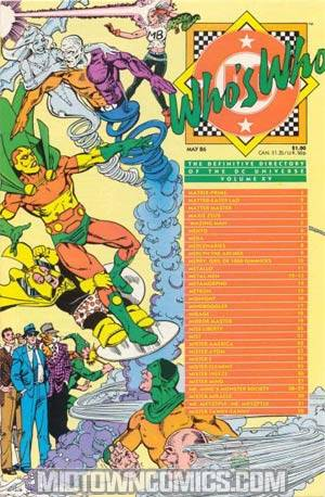 Whos Who The Definitive Directory Of The Dc Universe #15