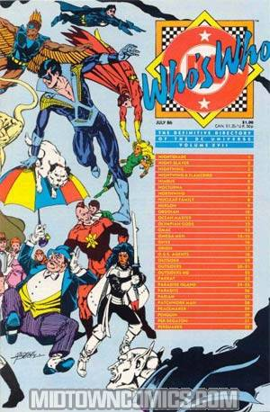 Whos Who The Definitive Directory Of The Dc Universe #17