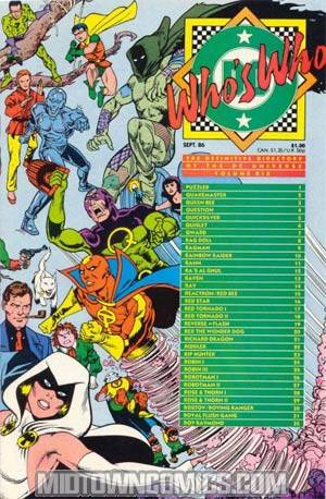 Whos Who The Definitive Directory Of The Dc Universe #19