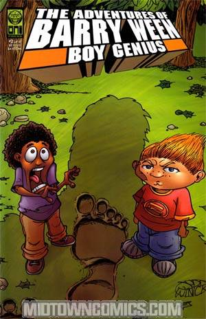 Adventures Of Barry Ween Boy Genius 3 Monkey Tales #2