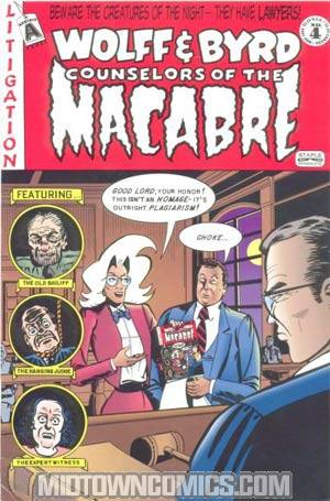 Wolff & Byrd Counselors Of The Macabre #4