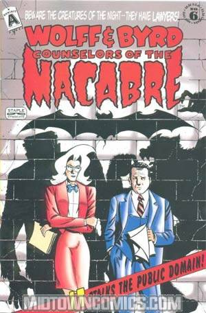 Wolff & Byrd Counselors Of The Macabre #6