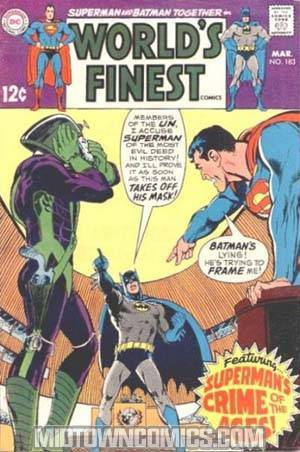 Worlds Finest Comics #183
