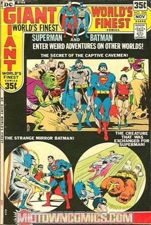 Worlds Finest Comics #206
