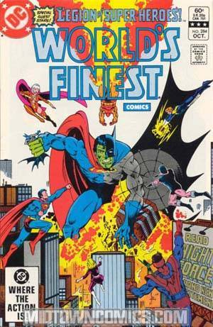 Worlds Finest Comics #284